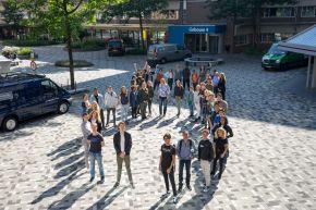 Foto: Infinity College op Campus Diemen Zuid van start