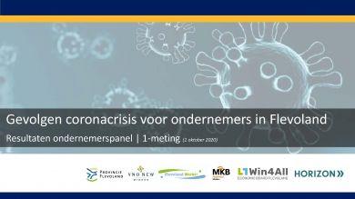 Bijna twee derde Flevolandse ondernemers kampt met omzetverlies